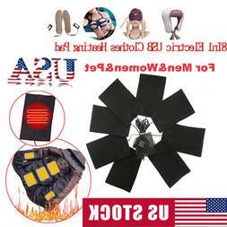 1 3 5 8pcs usb electric cloth