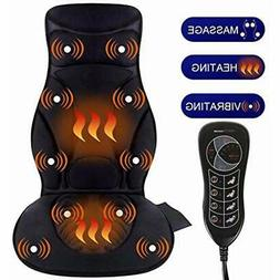 Relief Expert 10-Motor Vibrating Car Seat Back Massager Chai