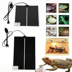 110V Pet Reptile Heater Under Tank Heating Pad Warming Heat