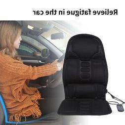 Heated Electric Car Back Neck Lumbar Full Body Massage Seat