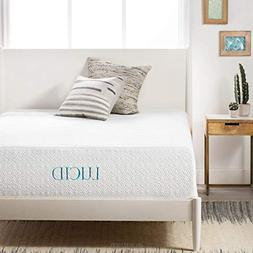 14 Plush Four-Layer Memory Foam Mattress by LUCID Twin