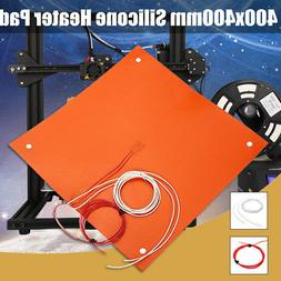 15/200/1000W Multiple Size Flexible Silicone Heater Pad 3D P