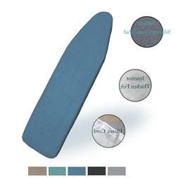 """Duwee 15""""x 54"""" Heat Resistant Metallic Ironing Board Cover a"""