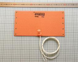 15X29cm Silicone Heat Pad WVO Fuel Big Filter Diesel Heater