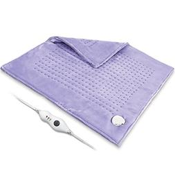 2 Sides Ultra Soft Flannel Electric Heating Pad with Auto Sh