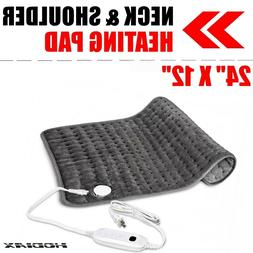 "24""x12"" Electric Heating Pad XXL Ultra Wide Microplush For S"