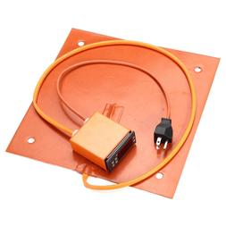 310x310mm 750W Upgrade Silicone Heater With LCD Thermostat <
