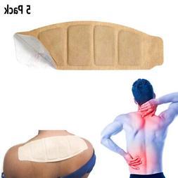 5Pk Neck Shoulder Heat Wraps Heat Patches Arthritis Pain Rel