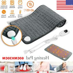 6-Level Electric Heating Pad for Back Pain Muscle Pain Relie