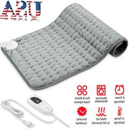 6-Level Electric Heating Warming Pad Heat Therapy Mat Body P