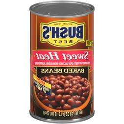 Bush's Sweet Heat Canned Baked Beans Seasoned with Brown Su
