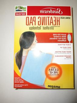 Sunbeam 732-500 King Size Heating Pad with UltraHeatTechnolo