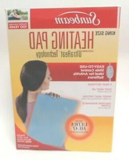 Sunbeam 732-500 NEW OPEN King Size Heating Pad with UltraHea