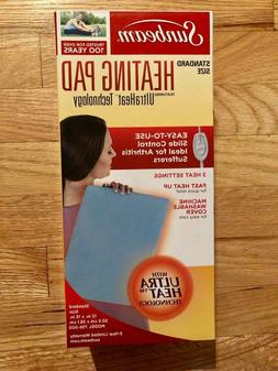 Sunbeam 756-500 Heating Pad with UltraHeatTechnology