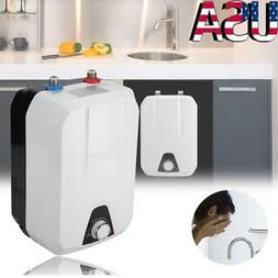 8L 1500W Mini Tankless Shower Instant Electric Hot Water Hea