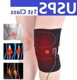Self-heating Electric Hot Knee Pads Warm Therapy Belts Knee
