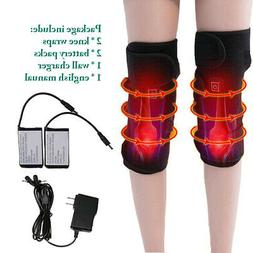 Electric Rechargeable Lithium Battery Heated Knee Pad Knee H