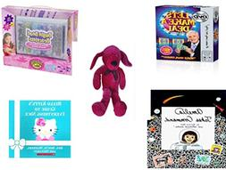 Girl's Gift Bundle - Ages 6-12  - Let's Make a Deal DVD Game