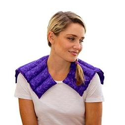 Neck & Shoulder Wrap – Microwavable & Reusable Heating Pad