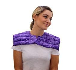 Upper Body Neck & Shoulder Wrap- Microwavable & Reusable - H