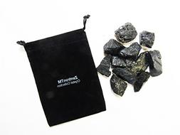 Zentron Crystal Collection: 1/2 Pound Rough Natural Black To