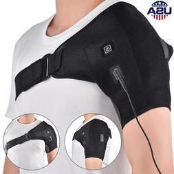 Adjustable Heated Shoulder Wrap Heating Pad Shoulder Support