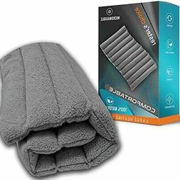 All-Natural LG Heating Pad, Microwavable-Natural Clay Beads