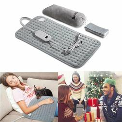 Blusmart Auto off Electric Heating Pad Back Pain Soft Therma