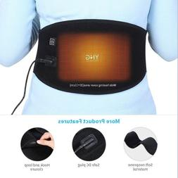 Back Support Belt Waist Heating Pad Hot Cold Brace Pain Reli