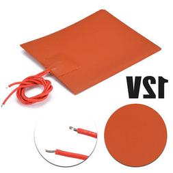 Bed Heating Pad Flexible Waterproof Silicone Rubber Heater U