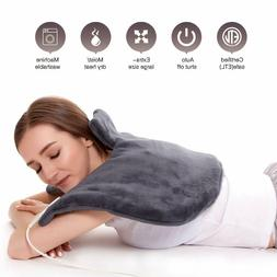 BEST Electric Heating Heat Pad with Warmer Therapy Neck Shou