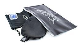 Black Natural Silk Sleep Mask