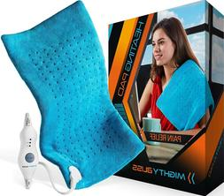 bliss large electric heating pad for back
