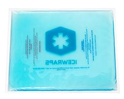Blue 10x12 Gel Pack Reusable Large Ice Pack, Microwavable Ho
