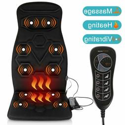 Relief Expert Car Seat Back Portable Massager Chair Pad with