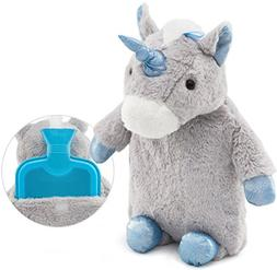 HomeTop Premium Classic Rubber Hot Water Bottle with Cute Un