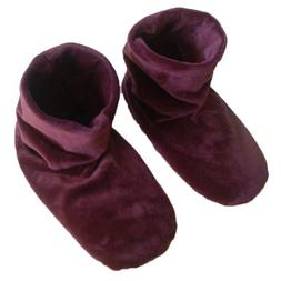 Herbal Concepts Comfort Booties, Mauve