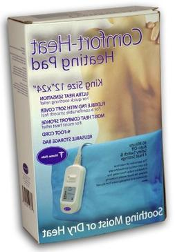 Comfort Heat King Size Moist/Dry Heating Pad