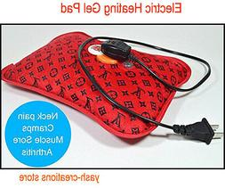 Cordless Rechargeable Electric Heating Gel Pad for Hot & Col