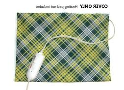 """COVER for Electric Heating Pad ~ Fits 12"""" x 15"""" Pads ~ 100%"""