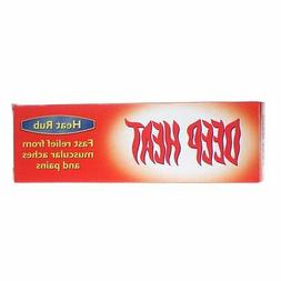 Deep Heat Cream Rub 100g Relief from Muscular Aches and Pain