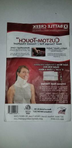 "Battle Creek Custom Touch Heat Therapy Pad 5"" X 16"" Model 83"