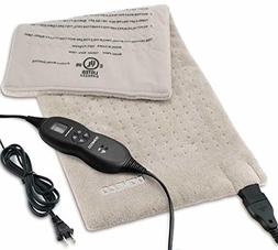 DONECO King Size XpressHeat Heating Pad  - Heat Therapy Help