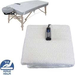 EARTHLITE Massage Table Warmer  Fleece Pad  - 3 Heat Setting