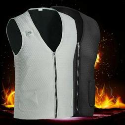 electric heated vest jacket usb warm up