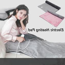Electric Heating Blanket Pad Washable Fast Warming Gear with