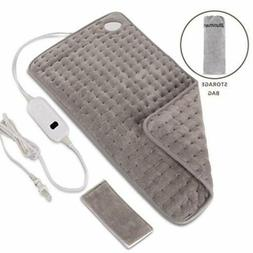 electric heating pad 6 heat setting auto