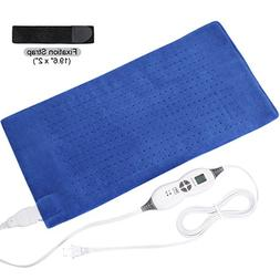 TechLove Electric Heating Pad with Auto Shut off Electric Mo