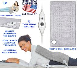 ELECTRIC HEATING PAD EXTRA LARGE MENSTRUAL PAIN RELIEF THERA