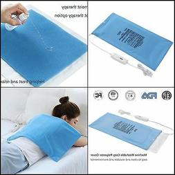 Electric Heating Pad Fast Heat with Auto Shut Off, Moist/Dry